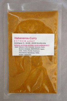 Curry Habaneros Tüte